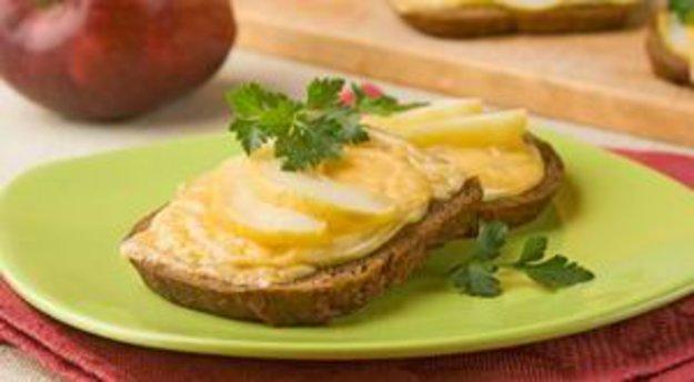 бутерброд с сыром и яблоками при диабете фото