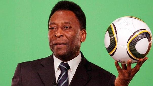 Легенда мирового футбола Пеле